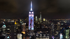 NY Manhattan I (stega60) Tags: newyork manhattan skyline night lights empirestatebuilding oneworldtradcenter liberty lightshow fashion nightview hdr panorama stiched stega60