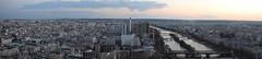 The View from the Eiffel Tower (santiago arbe) Tags: paris torre eiffel europe nikon d3300 landscape river sena france
