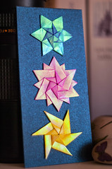 Trinity Stars on the bookmark (talina_78) Tags: trinitystars stars origami hexagon