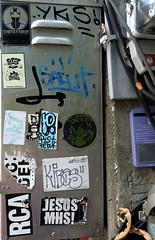 graffiti and streetart in chiang mai (wojofoto) Tags: graffiti streetart thailand chiangmai wojofoto wolfgangjosten stickers stickerart sticker wojo