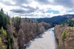 Scotland (agilerkan) Tags: scotland queensview highlands river trees spring cloudysky nature