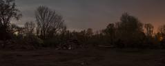 365-113 (• estatik •) Tags: 365113 365 113 flemington nj new jersey april232017 42317 sun sunday night long exposure hunterdon county after motel destruction demolition 202