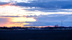 E4:an (afeman) Tags: xpro2 vehicles xf56f12 sunset sky architecture dawn bridges motorcycles blue landscapes öamck fujifilm transport uppsalalän sweden se