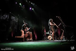Tia Fuller Trio - Wrocław