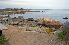 Now you tell me! (Bob Gundersen) Tags: ocean statepark park blue usa brown beach water rock stone skyline port landscape outside coast harbor photo seaside interesting sand nikon flickr waterfront image shots outdoor hiking path connecticut sandy hurricane shoreline picture newengland ct places trail madison shore scenes hammonassett tropicalstorm gundersen longislandsound conn hammo nikoncamera d600 meigspoint hammonassetbeachstatepark hammonassetbeach nikond600 connecticutscenes bobgundersen robertgundersen