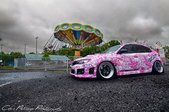 Carnie (ChrisPetruccio Photography) Tags: carnival pink dark boobies low camo subaru wrx sti scoobies stance acu carnie scoobie stancenation
