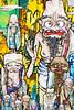 Arhat - Takashi Murakami at Blum & Poe (ryan.dumlao) Tags: flowers japan skulls happy tokyo flames statues folklore murakami otaku kiki skullhead takashimurakami superflat kaikai happyflowers gaiea