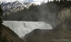 """Wapta Falls • <a style=""""font-size:0.8em;"""" href=""""http://www.flickr.com/photos/63501323@N07/8758277864/"""" target=""""_blank"""">View on Flickr</a>"""