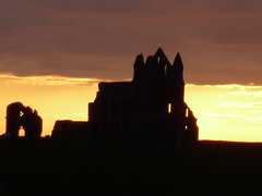 whitby abbey at sunset (Agatha c cat) Tags: abbey dracula whitby