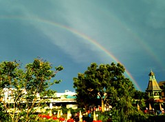 (Marcelo Taube) Tags: usa color rain orlando rainbow day florida magic united kingdom disney after states regionwide