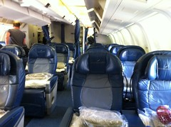 Delta 767 BusinessElite (old configuration) (johncdenman) Tags: airline airlines aviation commercialaviation airliners travel airplanes planes asia wanderlust trip vacation adventure city kix kixairport osaka firstclass airplane businessselect delta deltaone businessclass boeing 767