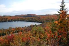 Caribou Lake view