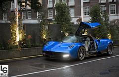 ooiiiyrah (Luke Alexander Gilbertson) Tags: blue london nikon londres sheraton londra f28 supercar londen pagani d4 2470 huayra hypercar