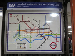 1933 (socarra) Tags: underground lego beck map circus tube piccadilly 150 diagram picadillycircus 1933 harrybeck