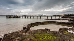 Over Torpedo Bay Pier and Beyond (duncan_mclean) Tags: seascape landscape pier moss auckland devonport torpedobay