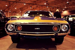 1974 AMC Javelin AMX (osubuckialum) Tags: auto classic car 1974 fairgrounds nc auction northcarolina raleigh amc 74 amx edit 2012 javelin