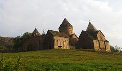 Goshavank monastery (Gregor  Samsa) Tags: light church sunrise illumination monastery armenia orthodox armenian goshavank