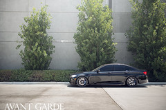 m510-custom-matte-black-bmw-f10-m5-side (AvantGardeWheels) Tags: black wheels f10 ag bmw m5 avant garde matte mckenna bespoke m510 21x9 agwheels 21x105