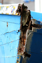 rotten bow (daniel.virella) Tags: ocean sea port boats island fishing harbour atlantic azores aores somiguel ilhadesomiguel