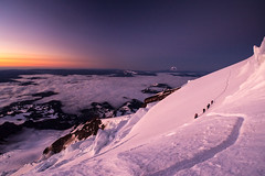 Rest Break (TroyMasonPhotography) Tags: alpine campmuir climbing clouds cowlitz dawn disappointmentcleaver emmons gibraltarrock glacier ice landscape littletahoma mist mountadams mountain mountainclimbing mountaineering mtrainier mtadams nisqually paradise snow sunrise tracks trail mountainclimb nationalpark josh checkthis