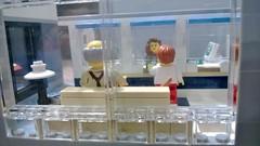 Lego Bank Teller (LegoMiamiguy119) Tags: money lego bank modular safe custom atm teller