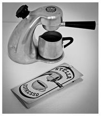 "Stella Maschinen (Wien, Austria) - Model 105 - ""Atomic"" - Coffee machine (www.unasalusvictisnullamsperaresalutem.blogspot.co) Tags: vienna wien stella original bon england italy france milan london simon classic kitchen coffee electric austria design la hungary britain g milano great budapest machine m mg made trading badge era espresso instructions express manual piccolo leaflet stovetop maker atomic stern etna industria instruction martian tar nec croci sassoon hogar giordano cafetera manuals patent imre leaflets sorrentina lucullus chabeuil gdv brevetti electa robbiati elekta tarditi szigony brevettata desider minipress qualital gorrea"