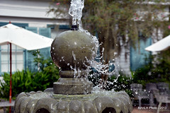 Myrtles Plantation Fountain (JohnLH Photo) Tags: water fountain highspeed nikond5200
