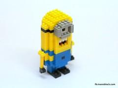 Minion (inanoblock) Tags: lego bricks banana diamond instructions blocks build tico minions minion nanoblock ナノブロック despicableme nanoblocks