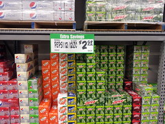 $3 12 packs of Pepsi cans is an excellent price. (kevynjacobs) Tags: price shopping store big box tags supermarket pack bellingham products pepsi cans 12 grocery prices aisles winco