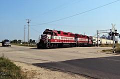WSOR 3807 (L595) (SW Rail Photos) Tags: emd gp38 wsor wisconsinsouthern wisconsinandsouthern l595 oshkoshsub