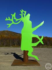 konst (Johan Ylitalo) Tags: art reindeer konst ren kiruna 2013