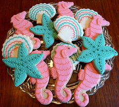 Pretty seahorses for a pretty girl!