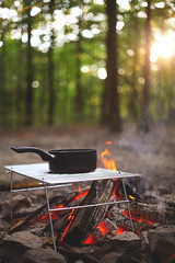 Red River | Camping Trip (Tyler Pack | www.TylerPackPhotography.com) Tags: camping red camp leaves canon river outdoors fire photography 50mm dof bokeh tyler pack 5d 18 firepit mkii