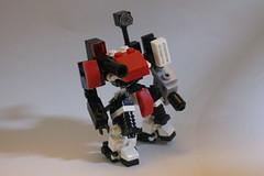 Cavalier Balista variant (milt69466) Tags: mecha mech moc microscale mechaton mfz mf0 mobileframezero redguild brickblent