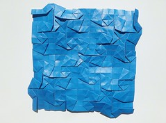 Irregular Square Whorls Tessellation (Byriah Loper) (Byriah Loper) Tags: paper origami paperfolding byriahloper