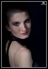 Studio Portrait (Zubair Yousaf) Tags: new pakistan light black eye art college beautiful female studio lens photography scotland model nikon edinburgh close photos scottish professional subject setup d200 portfolio hnd yousaf zubair faisalabad prokop clubmore urszula photographyedinburgh zubairyousaf wwwzubairyousafweeblycom