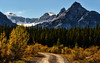 Autumn Road to the Canadian Rockies (Jeff Clow) Tags: road autumn fall nature landscape seasons banffnationalpark canadianrockies ©jeffrclow jeffclowphototour banffphototour