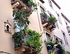 I balconi di Taormina (2) (Luigi Strano) Tags: italy europa europe italia balcony balconies sicily taormina sicilia messina sicile sizilien италия европа сицилия таормина