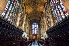 King's College Chapel, Cambridge (Tim Stocker) Tags: cambridge college fan tim chapel kings worlds vault largest the 1515 stocker 1512