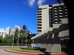 Waikiki, HI_13 (El Trinidad) Tags: travel usa building architecture clouds buildings hawaii oahu bluesky olympus ep3 eltrinidad olympusep3