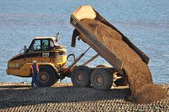 2013-10-29 Custom Plywood Mill Site (02) (1024x680) (-jon) Tags: mill beach waterfront shoreline cleanup dumptruck doe caterpillar restoration pugetsound coop sanjuanislands anacortes washingtonstate breakwater phase2 skagitcounty 730 salishsea fidalgoisland departmentofecology anacortesveneer tommythompsontrail scarsellabrothers customplywoodmill orionmarinecontractors caterpillar730articulateddumptruck a266122photographyproduction