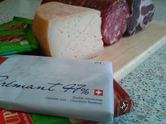SVIZZERA - TICINO (Giuseppe Stimolo) Tags: ticino svizzera salame formaggio cioccolata
