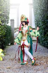 ( - Dizzy) Tags: cosplay dr lucca trinity enoshima dizzy zero junko fortuna blodd mirka dangan 2013 dizzymonogatari ronpa