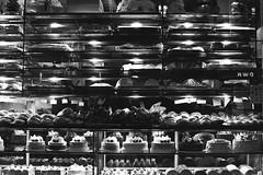 Cakes (forayinto35mm) Tags: uk england blackandwhite london cakes 35mm chinatown minolta chinese ilfordhp5 bakery hp5 pushed ilford minoltadynax5 blackandwhitefilm id11 dynax5 chinesebakery ilfordfilm hp51600 ilfordhp51600
