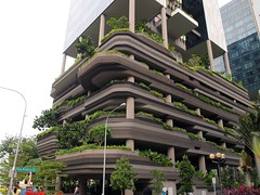 ParkROYAL on Pickering, Singapore, by WOHA. (HeyItsWilliam) Tags: park travel urban architecture modern hotel singapore asia royal luxury eclectic hospitality parkroyal pickering woha