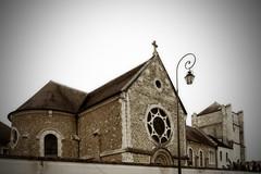 Eglise et Tour (Ombre&Lumiere) Tags: îledefrance patrimoine abbaye seineetmarne jouarre abbayenotredamedejouarre