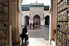 Inside of the Medina. Fes. Morocco (zanzibarcordoba) Tags: mosque morocco fez maroc medina mezquita marruecos fes