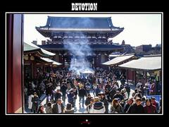 Devotion (apertureshouptikbasuphotography) Tags: people japan sensoji shrine religion culture asakusa shintoism