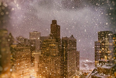 Night in the City (Jay Fine) Tags: city nyc snow night cityscape manhattan aep 7409