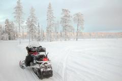 Finland - Lapland 2014 (edweerdt) Tags: sun snow finland sneeuw lapland zon kslompolo ylls